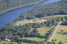 Sidney Maine aerial photo